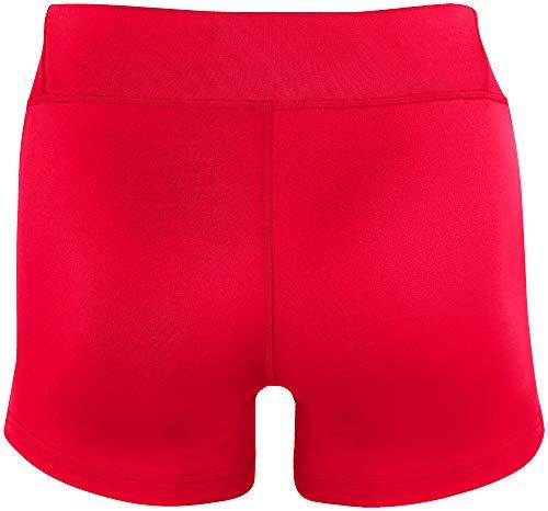 Mizuno 440656.905S.08.XXL Victory Damen Volleyball-Shorts, 8,9 cm, Damen, 440656.1010.02.XXS, rot, Erwachsene XXS - 2