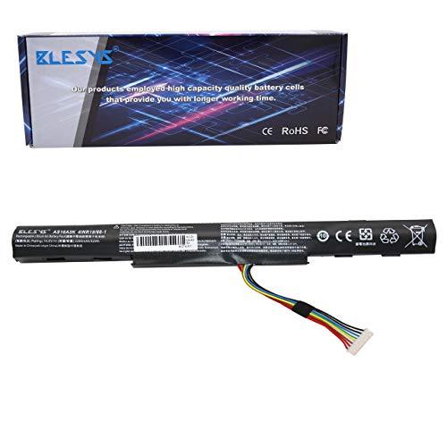 BLESYS AS16A5K Batería para Acer Aspire E5-575 E5-575G E5-774 E5-774G Serie AS16A7K AS16A8K 14.6V 2200mAh Computadora portát