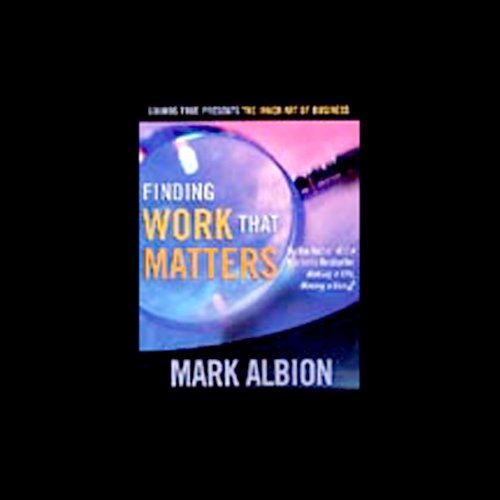 Finding Work that Matters audiobook cover art