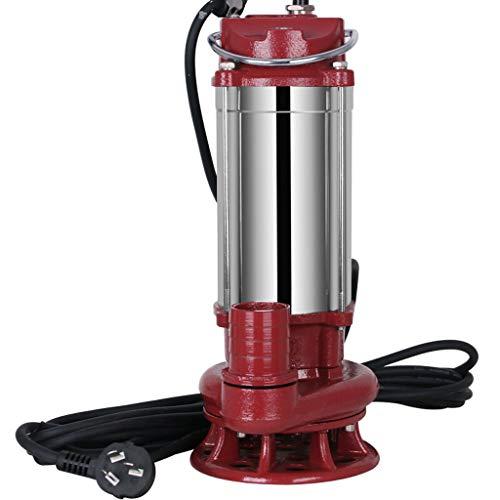 RKY Bomba de agua Bomba sumergible de bomba doméstica 220V bomba agrícola autocebada máquina de bombeo bomba de agua limpia automática irrigación bomba de aguas residuales 1500W /-/