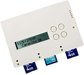 BestDuplicator - 1 to 2 Target SD/MicroSD 1:2 Copy Portable Flash Duplicator