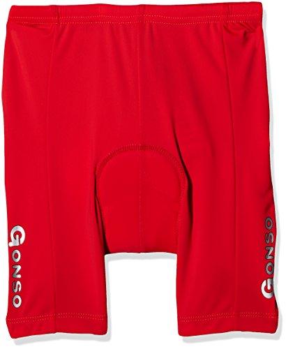 Gonso - Lange Radsport-Hosen für Jungen in Fire, Größe 152