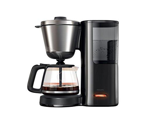 Philips HD7695/90 Intense Filter-Kaffeemaschine, Aroma-Wahlfunktion, schwarz/edelstahl