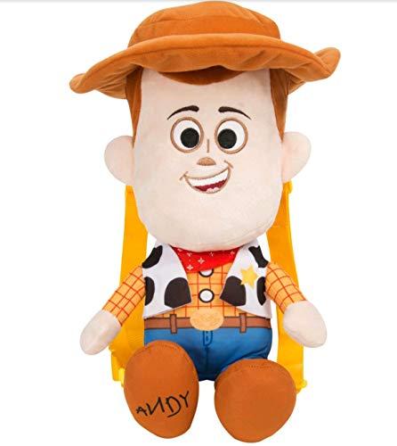 Toy Story- Peluche Mochila, Multicolor, 40 cm (DTS-8512-1)