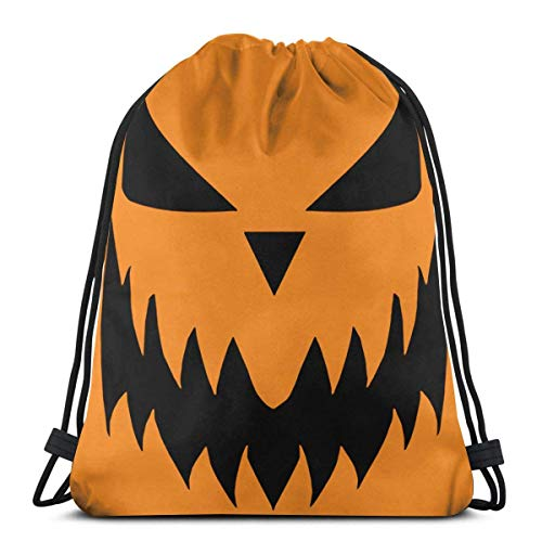 XCNGG Halloween Kordelzug Rucksack/Kosmetiktasche/Geldbörse/Armband/Halskette/Stirnband/Schlüsselbund/Haftnotiz