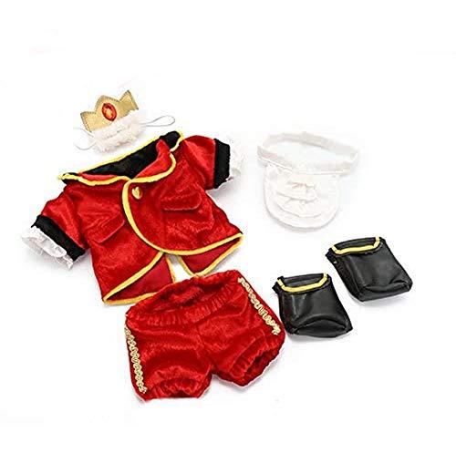 マザーガーデン Mother garden うさももドール プチ 着せ替え服 王子様服 赤 Sサイズ用 お人形遊び きせかえ ドール 着せ替え服 ハロウィン 仮装 コスプレ