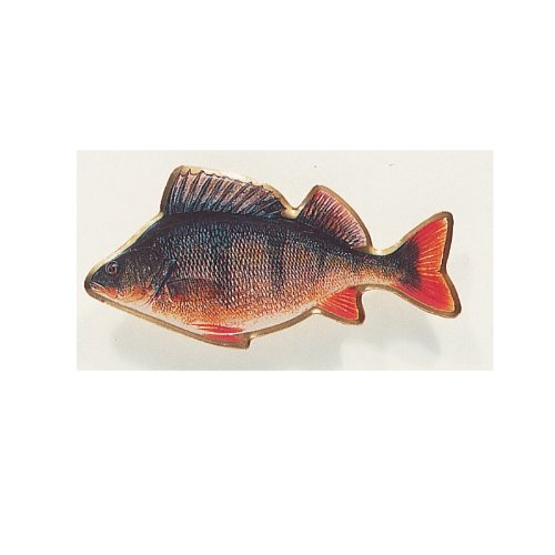Balzer Fisch Anstecknadel Logo/Pin - Barsch