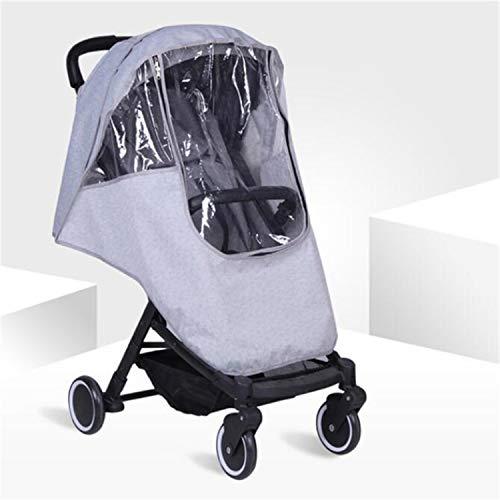 BABIFIS Accessoires de Poussette de bébé Universal imperméable Protection Contre la Pluie Wind Dust Shield pour poussettes poussettes Buggy Cover C