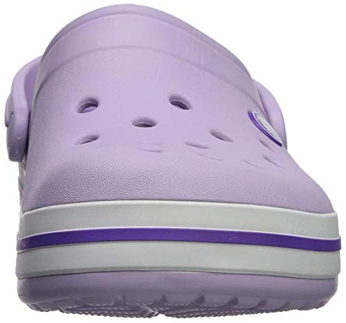 Crocs Crocband Clog K, Lavender/Neon Purple, 12 UK Child