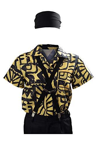 Eleven Battle Shirt Costume Season 3 Halloween Cosplay, Yellow, Size...