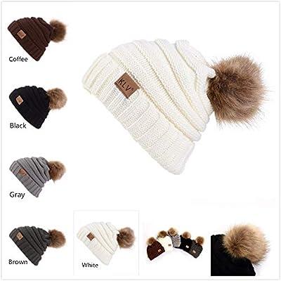 Men Women Baggy Warm Crochet Winter Wool Knit S...
