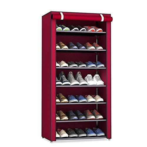 Zcm Zapatero 3/4/5/6/8 Capas del Zapato Rack de Almacenamiento de Calzado a Prueba de Polvo Soportes Pasillo Gabinete del sostenedor del Organizador del hogar del Estante Ensamble Zapatos de Muebles
