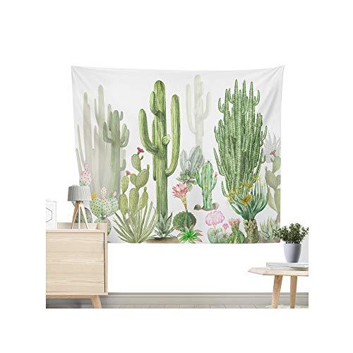 Miguor Dacron-Tuch aus Polyesterfaser, Kaktus, Sukkulenten, Wandteppich, Strandtuch, Decke, Heimdekoration, Dacron, 10. rosa Kaktus, 200*150cm