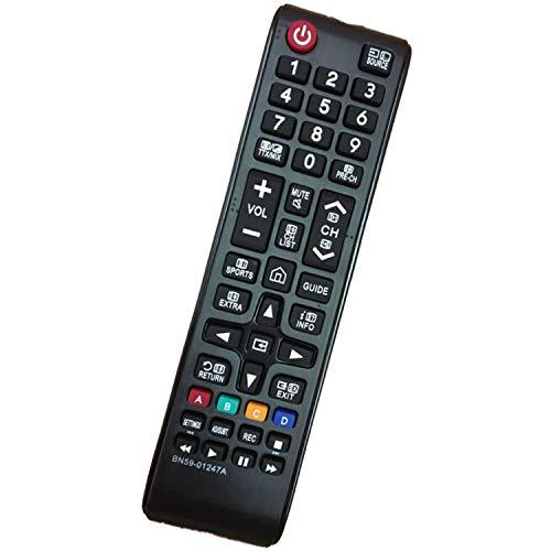 Reemplazo Mando a Distancia Pare Samsung BN59-01247A Ajuste para Samsung TV Control Remoto BN59 01247A - No se Requiere...