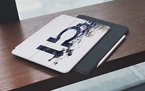 Funda para iPad 10.2 Pulgadas,2019/2020 Modelo, 7ª / 8ª generación,Cáncer Zodiaco Libra Polvo Universo Minimalista Ciencia abstracta Horóscopo Tauro Vi Smart Leather Stand Cover with Auto Wake/Sleep