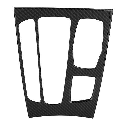 KSTE Auto-Innenraum-Center-Gangschaltung-Panel-Abdeckung Trim for BMW X5 X6 F15 F16 14-18 (Carbon-Faser)