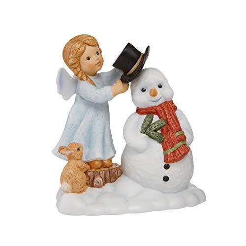 Goebel Nina & Marco 11750501 - Statuetta natalizia con angelo custode, novità 2019