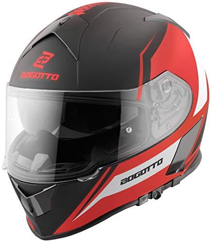 Bogotto V126 G-Evo Helm Schwarz/Rot XL