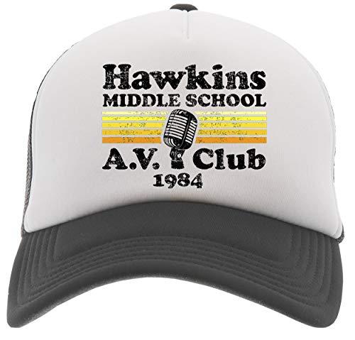 Middle School A.V. Club Gorra De Béisbol Camionero Negro Baseball Trucker Cap Black