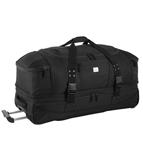 Rada Reisetasche mit Rollen RT/22, groß und wasserabweisend, Sporttasche mit 120 Liter Volumen, Trolley-Bag (Maße: 90x40x40 cm)