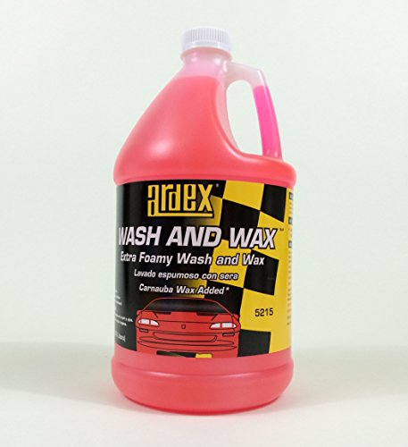 Ardex Wash and Wax Concentrate - Extra Foamy One Step Clean & Shine - DIY Like The Pros! (Gal.)