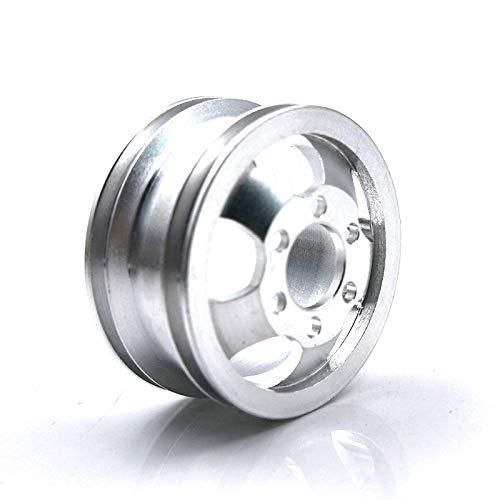 TOOGOO Metall Upgrade STO?Feste Rad Naben Felge für B1 B16 B24 B36 C14 C24 1/16 WPL RC Truck mit Schraube