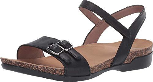 Dansko Women's Rebekah Black Sandal 6.5-7 M US