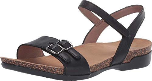 Dansko Women's Rebekah Black Sandal 8.5-9 M US