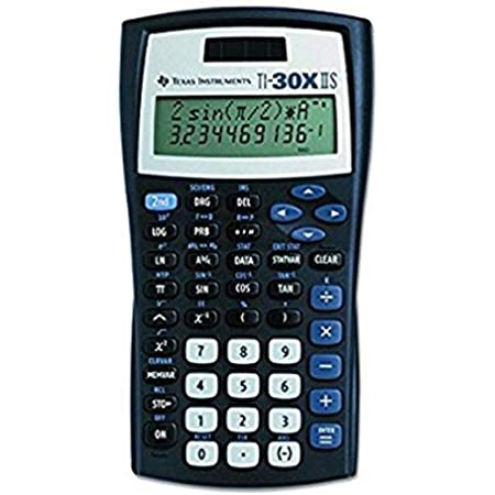 Back To School Texas Instruments Fundamental TI-30X IIS, 2-Line Scientific Calculator Supply Kit, Essential Classroom Teaching & Advance Training Resource Tool for Math Science Algebra Statistics Trig
