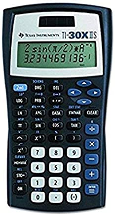 $37 » Back To School Texas Instruments Fundamental TI-30X IIS, 2-Line Scientific Calculator Supply Kit, Essential Classroom Teaching & Advance Training Resource Tool for Math Science Algebra Statistics Trig