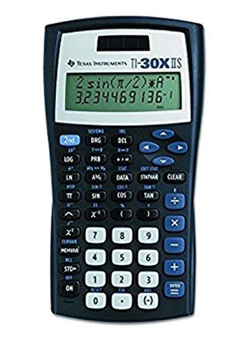 Back To School Texas Instruments Fundamental TI-30X IIS, 2-Line Scientific Calculator Supply Kit, Essential Classroom Teaching & Advance Training Resource Tool for Math Science Algebra Statistics Trig