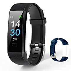 ACCURATE & VALUABLE GPS SMART WATCH-- This effective fitness tracker is a valuable tool in your fitness routine including weight training,walking, in terms of heart rate, calorie burned,walking, fitness settings. You can choose from 16 exercise modes...