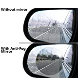 Taslar Waterproof Film Rear View Mirror Side View Glass Anti-Fog Anti-Glare Rainproof Film