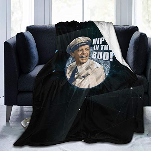 Sherrygeoffrey Andy Griffith Blanket Blanket Flannel 3D Printed Soft Warm Throw Blanket Warm, Home, Bed,Sofa Blanket.