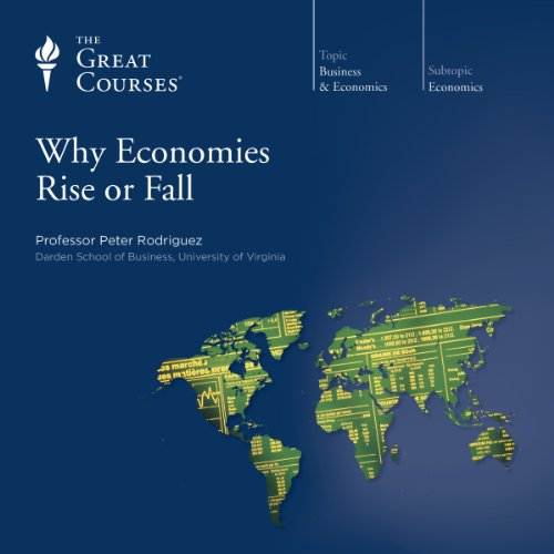 Why Economies Rise or Fall audiobook cover art