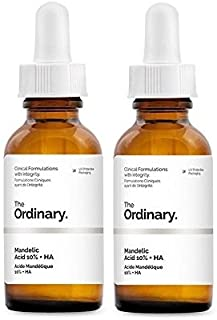 The Ordinary Mandelic Acid 10% + HA with AHA and Hyaluronic Acid (30ml) (Pack of 2)
