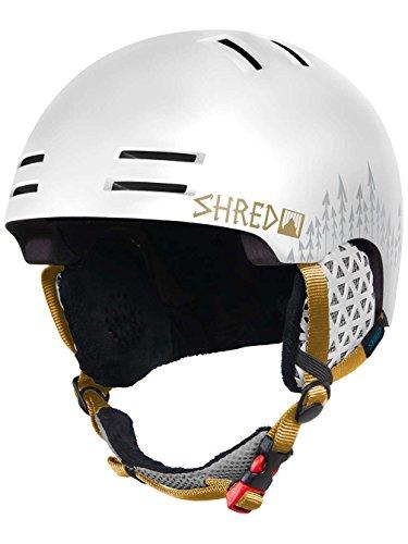 Shred Damen Helm Slam-Cap White Out Helmet