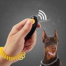 Pets Empire Dog Training Clickers Pet Puppy Kitten Cat Obedience Aid with Wrist Strap (Color May Vary)