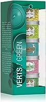 Kusmi Tea - Coffret de 5 Miniatures de Thés Verts Aromatisés - Parfums Floraux, Gourmands, Acidulés, et Thé Vert à la...
