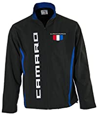 Officially Licensed General Motors Product 100% Bonded Polyester With Contrast Piping Trim Fitted Cut, Sleek Body Style, Water Resistant Fabric Embroidered Logos Front & Back, Soft Shell Jacket With Inside Fleece Liner Great Jacket For All Year Round...