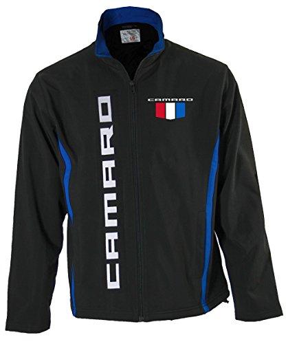GM Chevrolet Unisex Bonded All-Season Jacket (Camaro, X-Large)