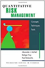 Quantitative Risk Management: Concepts, Techniques, and Tools (Princeton Series in Finance) ( Hardcover ) by McNeil, Alexander J.; Frey, Rüdiger; Embrechts, Paul published by Princeton University Press