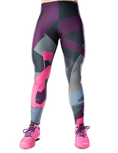 Bombsheller Badass Performance Leggings (XS, BlackIce)
