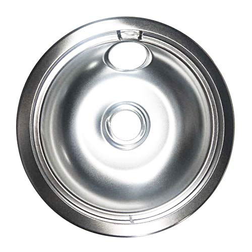 YMHAN Replacement Stove Range Oven Drip Bowl Pan, 6'' Fit For Frigidaire Mfg#316048413