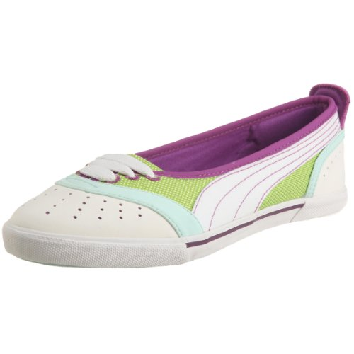 Puma Sky Lite Ballerina 349581 03, Damen Ballerinas, grün, (wild lime-bright white 03), EU 40 1/2, (US 9 1/2), (UK 7)