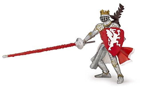 Papo 39386 Red dragon king THE MEDIEVAL ERA Figurine, multicolour