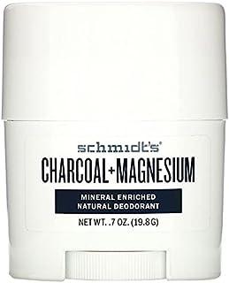 SCHMIDTS DEODORANT Charcoal Magnesium Deodorant Mini Stick, 19.8 GR