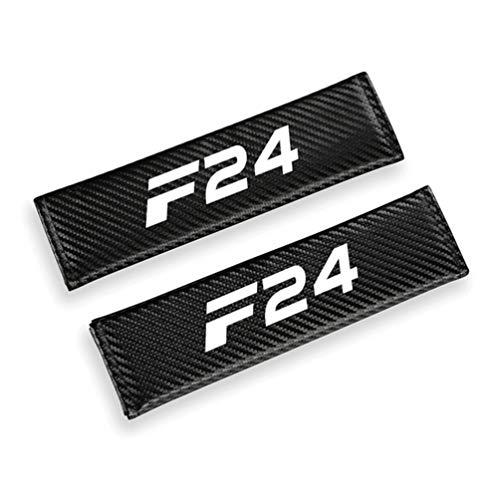 Para BMW F01 F02 F07 F10 F11 F12 F13 F15 F16 F17 F18 Fundas Cinturones Seguridad AutomóViles,Almohadillas Cuero Fibra Carbono Cinturones Seguridad,Cubiertas Cinturones Seguridad,Almohadillas Hombros