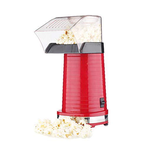 AZCSPFALB Máquina de Palomitas 1200W Mini, Aire Caliente, Sin Grasa y Saludable, Maquina Palomitas de Maiz para Niños y Adultos, Máquina de Palomitas de Maíz Gourmet
