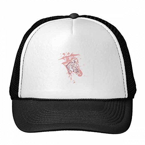 DIYthinker Lila Zebra gemalte Tier Trucker-Mütze Baseballmütze Nylon Mütze Kühle Kind-Hut-Justierbare Kappe Geschenk Erwachsene